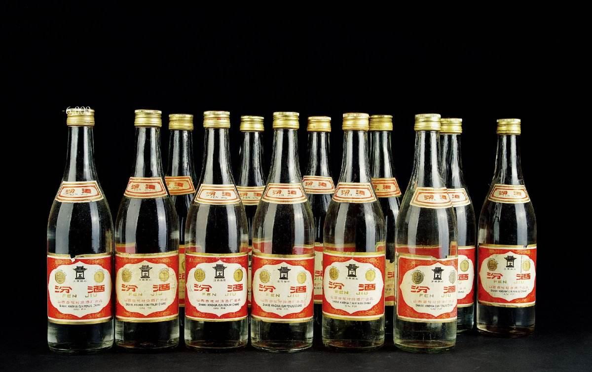 名酒回收1980年的汾酒回收